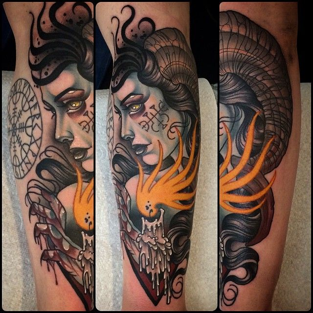 69 best neo traditional tattoo images on pinterest neo for Cherry bomb tattoo parlor perth