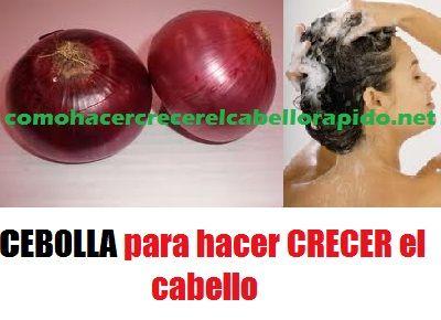 Shampoo de Cebolla