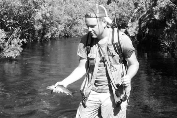 Nick Dall is a freelance writer who has lived and fished all over the world. Recent postings include Italy, Argentina, Bolivia and Vietnam but he is currently back in Cape Town rediscovering the trout streams and dams of his youth. His one-year old daughter and his mortgage also suggest that he is finally settling down.