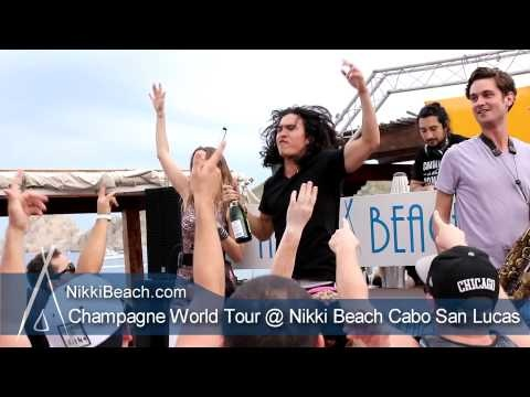 Nikki Beach Cabo Champagne World tour comes to Cabo 12-29-2012