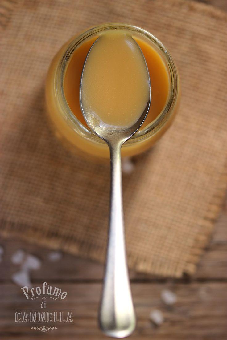Salted caramel - salsa al caramello salato