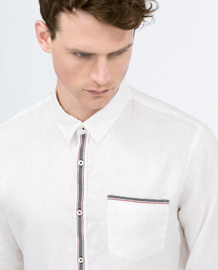 ZARA - MAN - Linen shirt