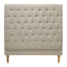 Taupe Charlotte Chesterfield Bedhead