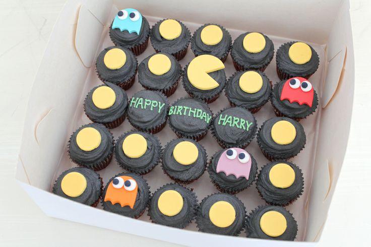 Pacman cupcakes by Sweet Bakery & Cakery, Wellington, NZ (www.sweetbakery.co.nz)
