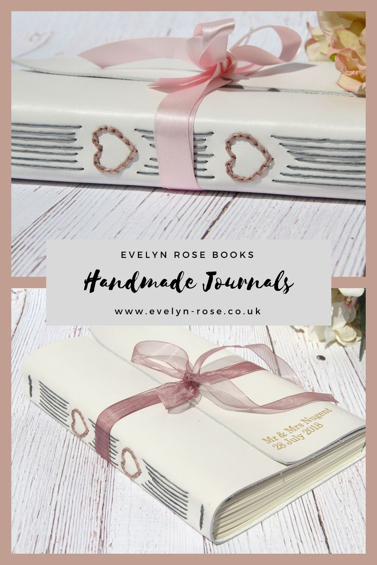 Custom made leather anniversary for her rd wedding journal