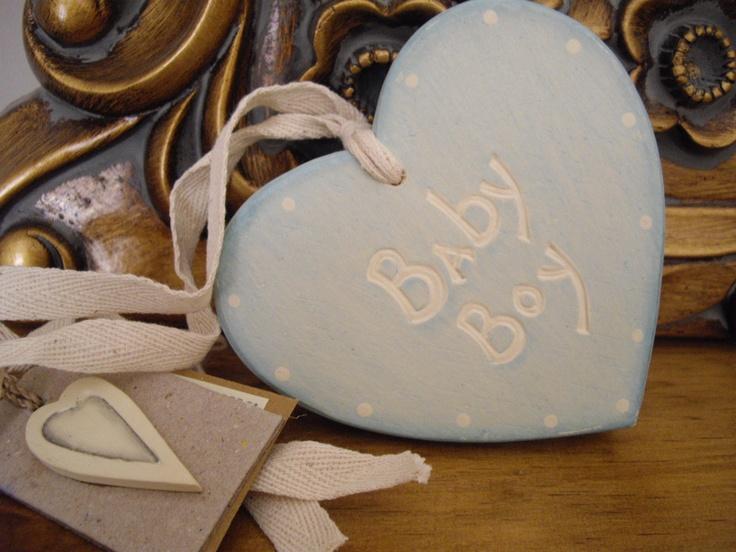 a lovely little heart for a lovely little boy x