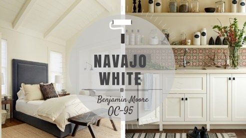 Best Color Spotlight Benjamin Moore Navajo White Benjamin 400 x 300
