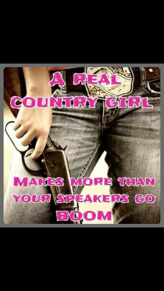 Real country girl