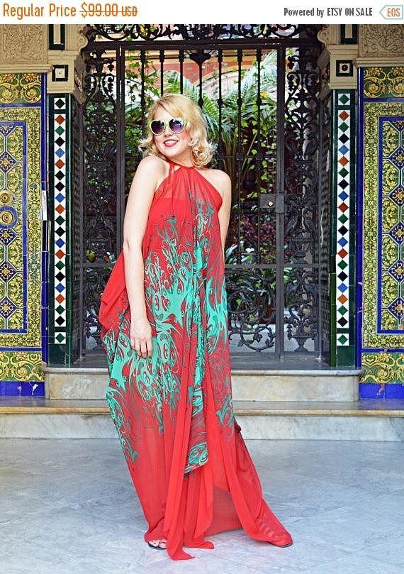 ON SALE Red Maxi Dress Boho Print Dress Floral Maxi Dress https://www.etsy.com/listing/519878116/on-sale-red-maxi-dress-boho-print-dress?utm_campaign=crowdfire&utm_content=crowdfire&utm_medium=social&utm_source=pinterest
