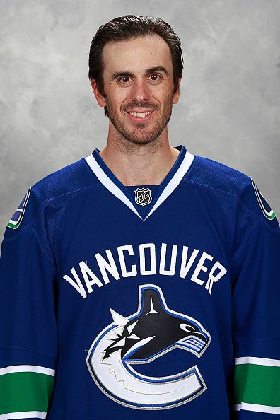 Ryan Miller - Goaltender... of the Vancouver Canucks poses for his official headshot for the 20152016 season on September 17 2015 at Rogers Arena in Vancouver...