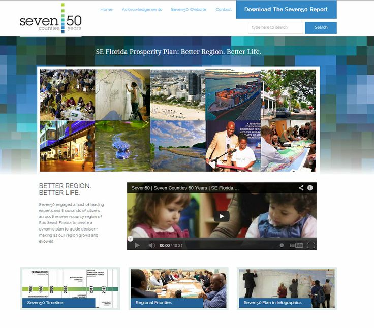 Seven50 Report Website