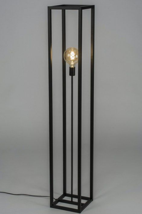 Vloerlamp 72924: Industrie, Look, Modern, Stoer