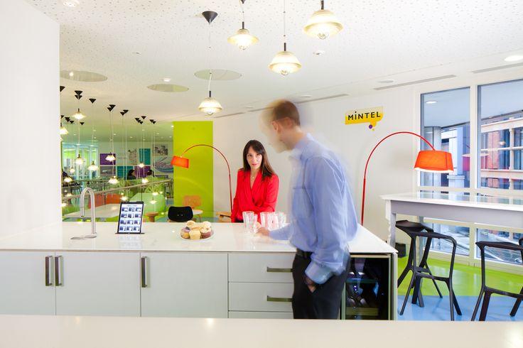Mintel   Office   London   HQ   Case Study #TopBrewer #Mintel #cooloffice #design #workspace http://scanomat.co.uk/uk/case-studies/workplace/business/mintel