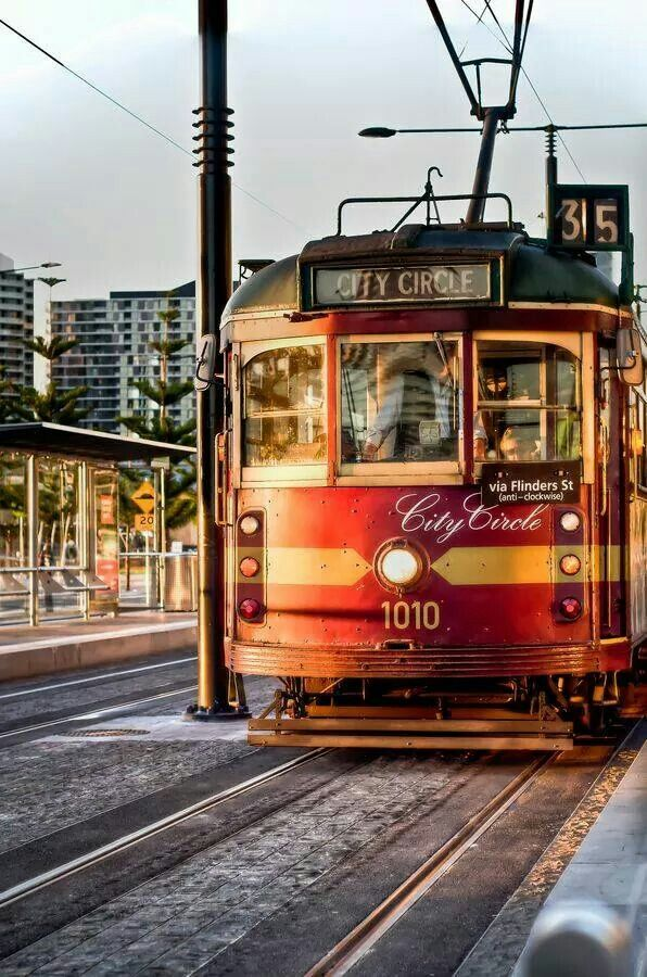 Melbourne Australia #Love the Tram