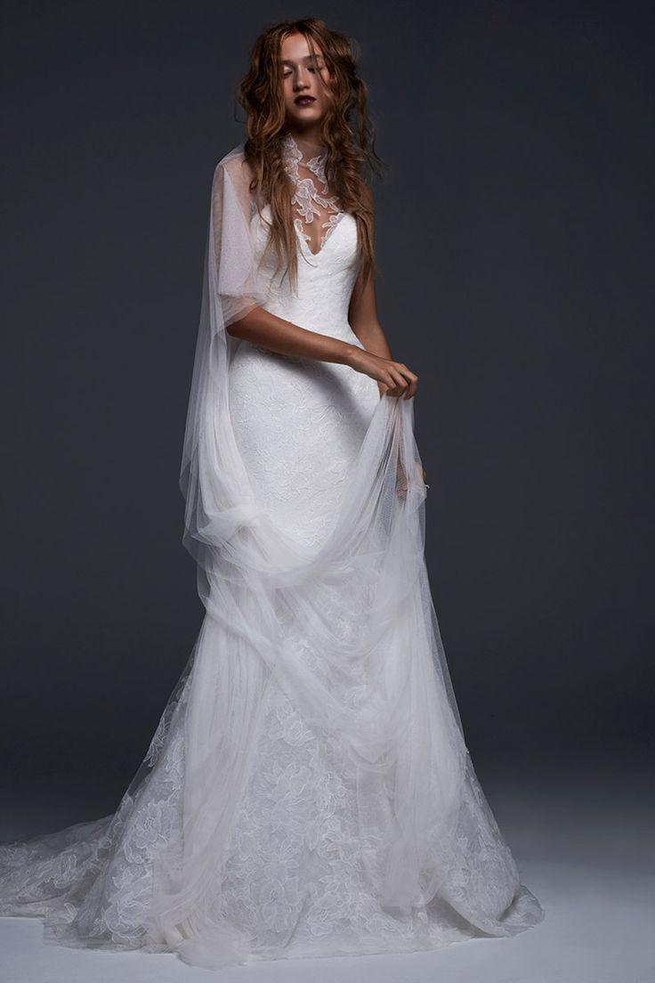 Favianna Vera Wang Bridal 2017  - HarpersBAZAAR.com