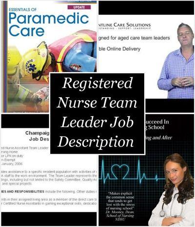 The 25 best ideas about Registered Nurse Job Description on – Paramedic Job Description