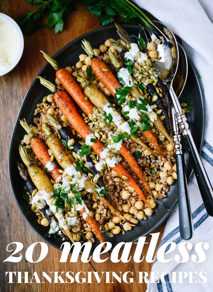 20 Vegetarian Thanksgiving Recipes - Cookie and Kate - http://cookieandkate.com/2016/20-vegetarian-thanksgiving-recipes/?utm_source=bloglovin.com&utm_medium=feed&utm_campaign=Feed%3A+CookieAndKate+%28Cookie+and+Kate%29