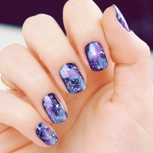 Galaxy nails <3