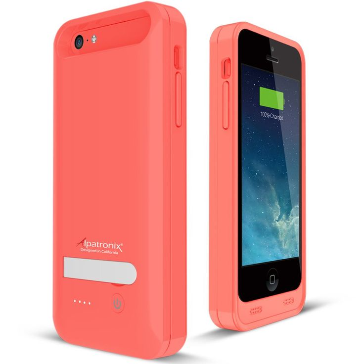 Alpatronix BX120plus iPhone 5/5S/5C Battery Charging Case