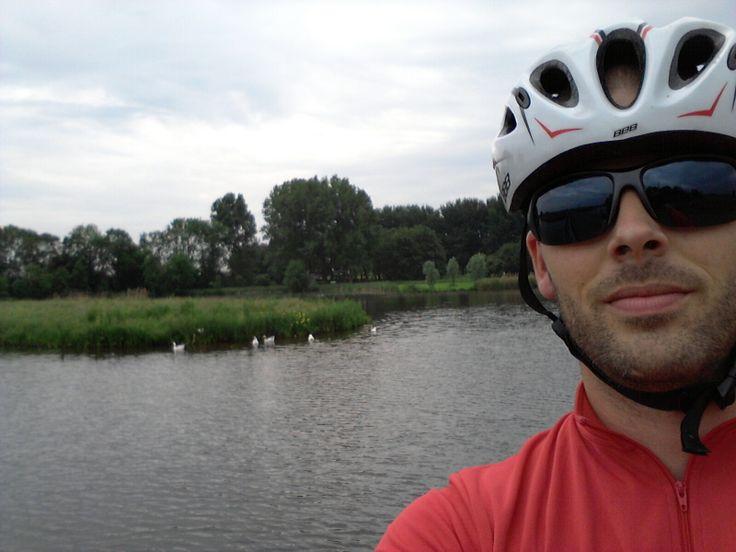 Groene Selfie Tom Zandbergen