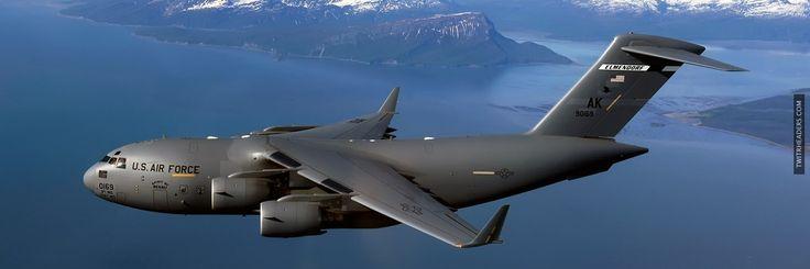 Boeing C-17 Globemaster III Twitter Header Cover - TwitrHeaders.com