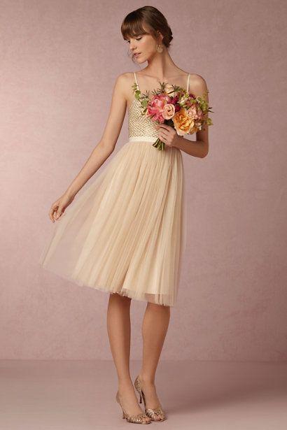 BHLDN Coppelia Dress in  Bride Reception Dresses at BHLDN