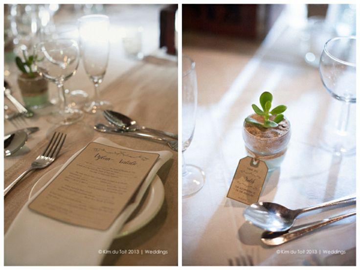 DYLAN & NATALIE | Rustic Wedding Stationery #wedding #stationery #rustic #succulent #nametags #wedlibs