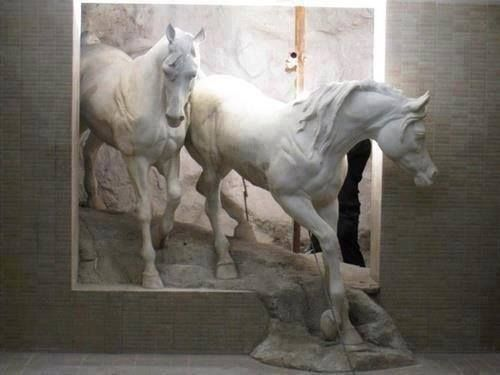 small horse statue 3d - photo #40