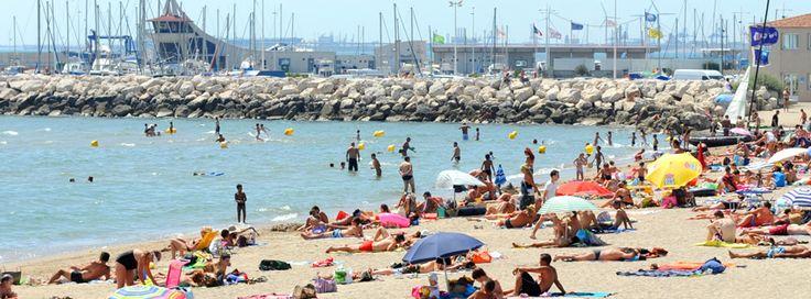 Fos sur mer : entre baignade sur la plage et promenade sur le port !