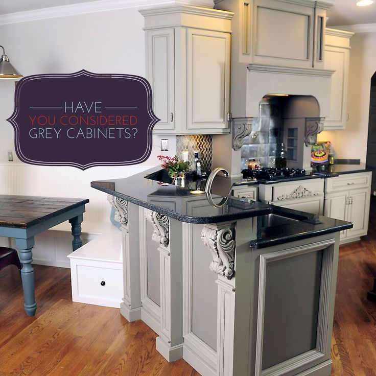 grey kitchen cabinets pictures | Have you considered Grey Kitchen Cabinets? | Bella Tucker Decorative ...