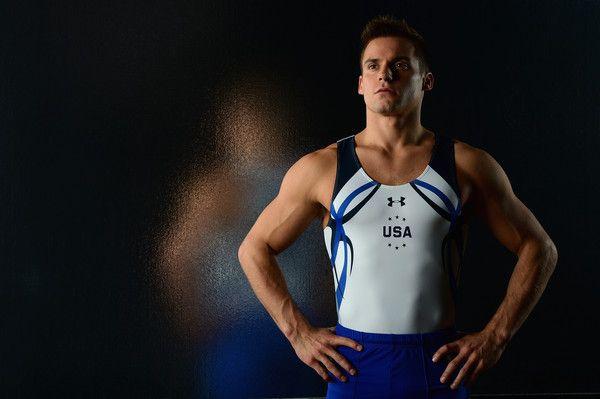 Sam Mikulak Photos Photos - Gymnast Sam Mikulak poses for a portrait at the USOC Rio Olympics Shoot at Quixote Studios on November 17, 2015 in Los Angeles, California. - USOC Portraits for Rio2016