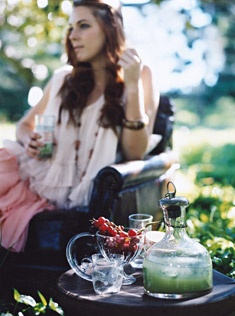 iced mint and cucumber gin - recipes - donna hay