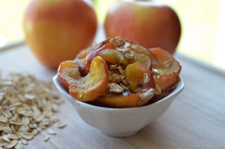 baked apple with oats | Desserts ~ Other Desserts | Pinterest