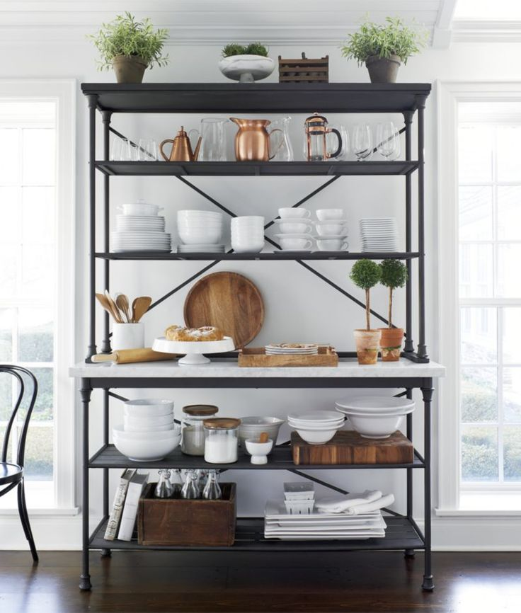 Pallet Hutch, French Industrial And Coffee Nook
