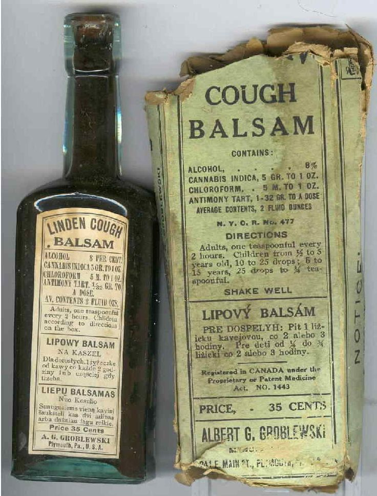 Various Brands Of Quot Cough Balsam Quot Are Available The Main