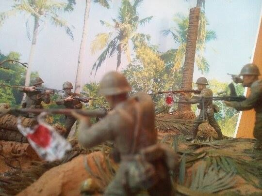 Marines! USMC vs. SNLF. Tarawa Test Shot 03
