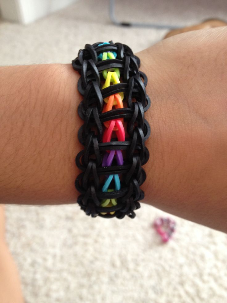 17 Best Images About Rainbow Loom Patterns On Pinterest