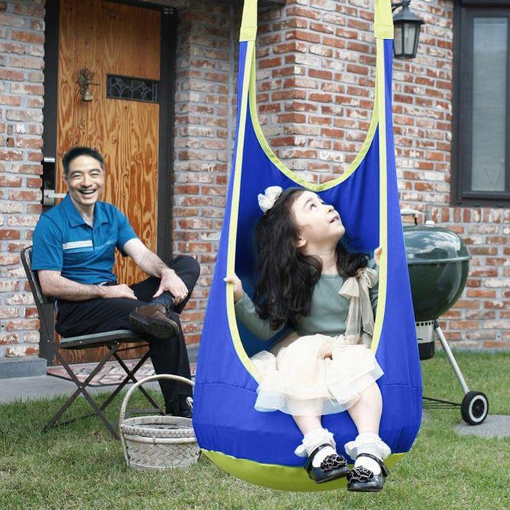 Baby Children Swing Hammock Kids Relaxing Swing Chair Indoor Outdoor  Hanging Chair Child Swing Seat Maximum