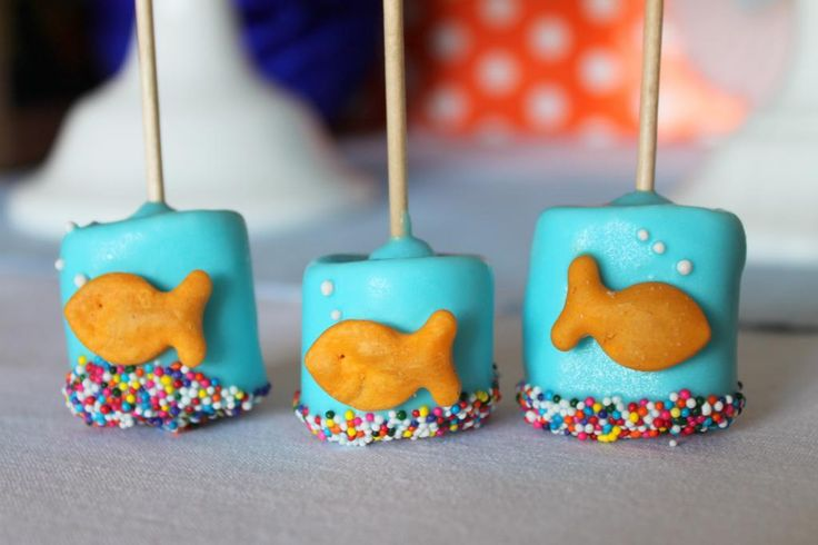 O-FISH-Ally FIVE Goldfish Party