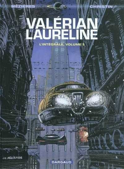 Valérian et Laureline, Couverture Volume 5