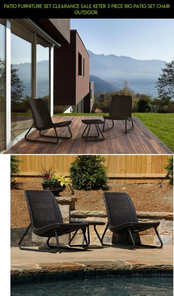 Patio Furniture Set Clearance Sale keter 3 Piece Rio Patio Set Chair Outdoor  #products #tech #camera #gadgets #plans #technology #parts #racing #drone #kit #shopping #fpv #furniture #clearance #sets #patio #3