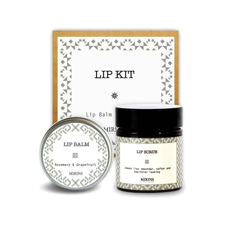 Lip Kit Our Lip Kit contains a Lip Balm and Lip Scrub   Includes Lip Balm rosemary & grapefruit and Lip Scrub rosemary and grapefruit
