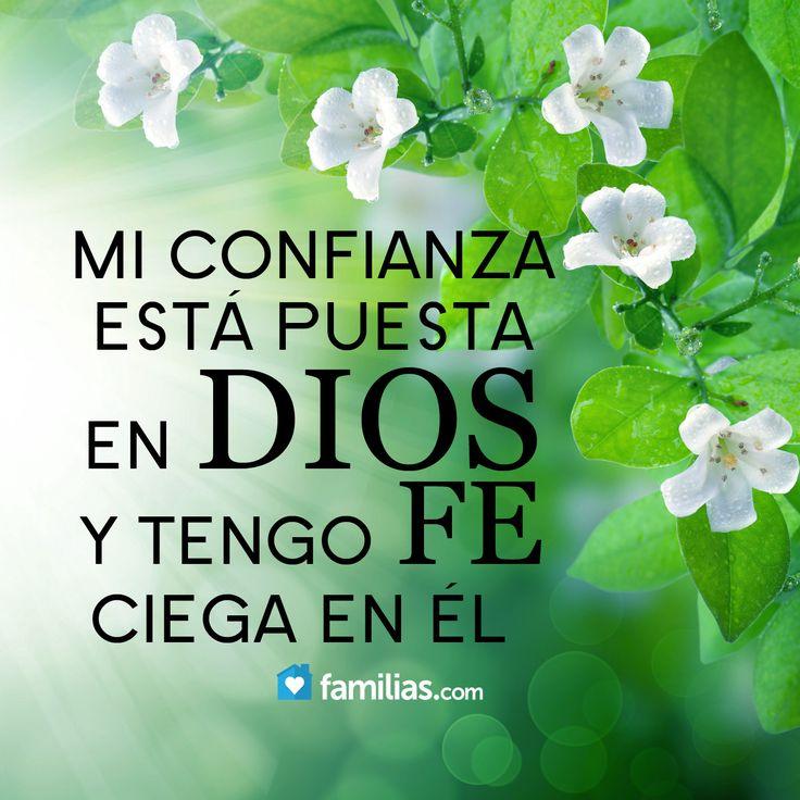 Mi confianza está puesta en Dios