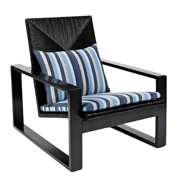 Buy Palmilla Lounge Chair by Foley & Cox - Quick Ship designer Furniture from Dering Hall's collection of Mid-Century / Modern Transitional Armchairs & Club Chairs.
