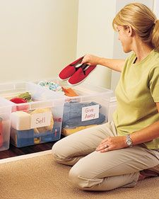 Simplifying the Big Move - Martha Stewart Attic~ going through stuff a day at a time! I am making great progress! ~jamie