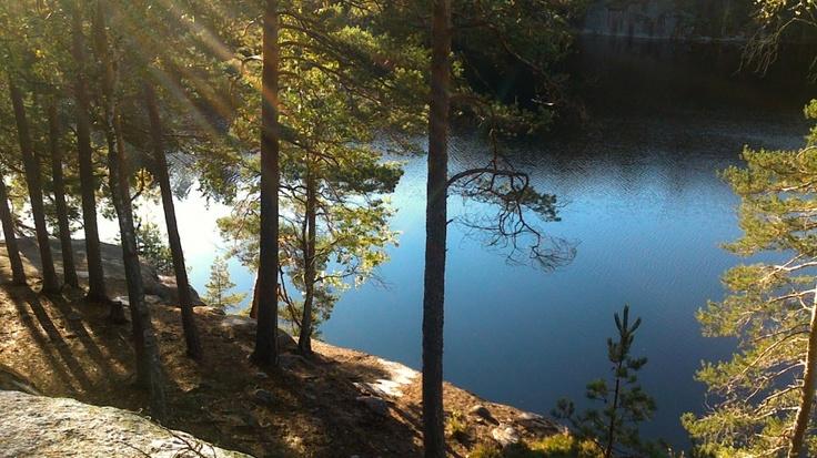 Nuuksio Nationalpark near Helsinki