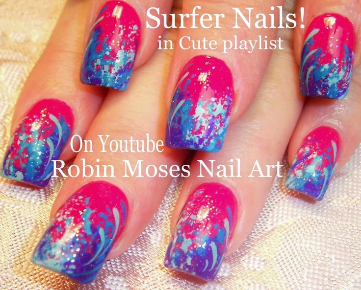 Nail Art Designs Using Sponge ~ the best inspiration for design and ...