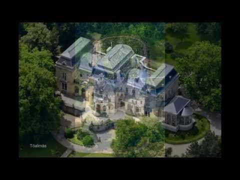 Magyarország legszebb kastélyai madártávlatból - YouTube