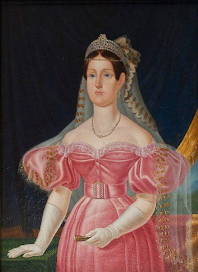 Marie Christine of Savoia  by ? (Reggia di Caserta - Caserta, Campania, Italy) Wm