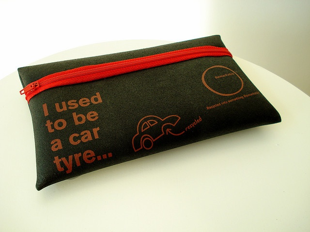 I used to be a tyre... Recycled products by net_efekt, via Flickr